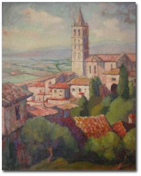 Assisi by Shirly Russell
